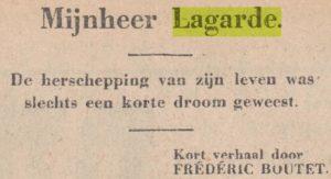 Krantenbericht 1931